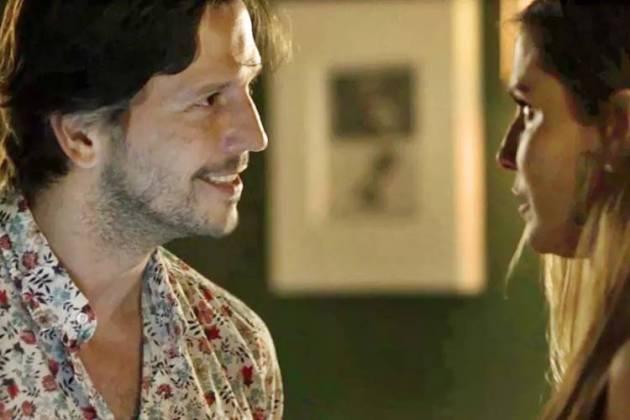Segundo Sol - Remy aparece para Karola (Reprodução/TV Globo)