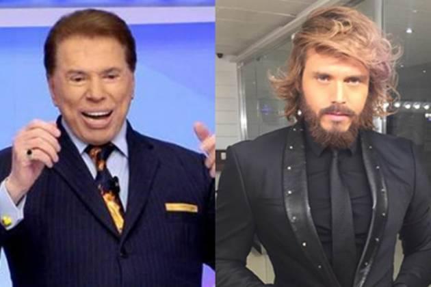 Silvio Santos e Franklin David