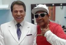 Silvio Santos e Liminha - Reprodução/SBT