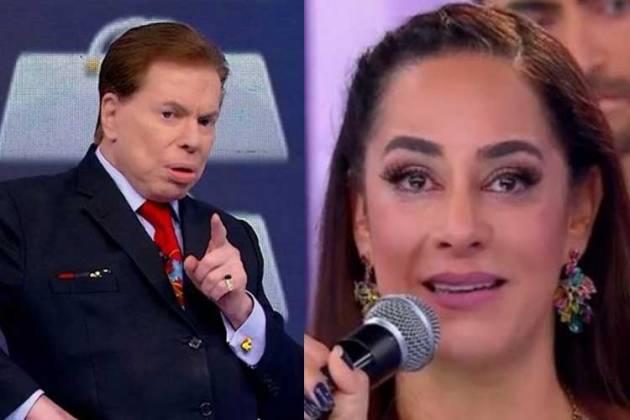 Silvio Santos e Silvia Abravanel - Reprodução/SBT