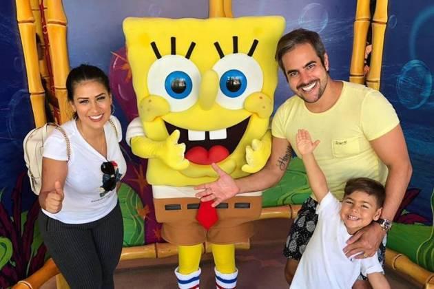 Simone, Henry e Kaká Diniz / Instagram