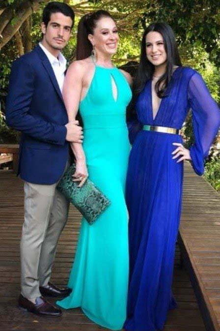 Sofia Raia, Claudia Raia e Enzo Celulari - Reprodução/Instagram