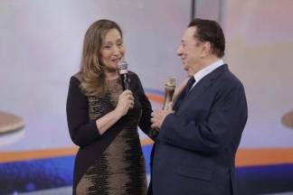 Sonia Abrão e Raul Gil - Reprodução/SBT