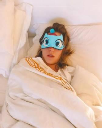 Sophia Abrahão dormindo/ Instagram