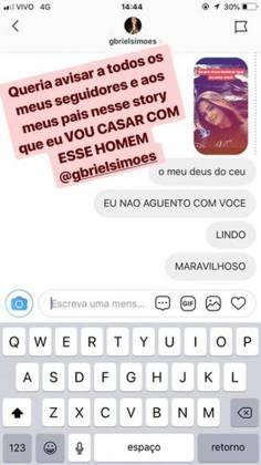 Suzanna Freitas / Instagram: stories