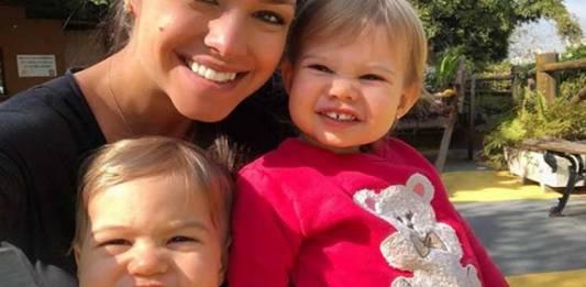 Thais Fersoza e os filhos - Reprodução/Instagram