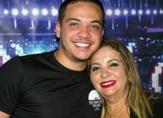 Wesley Safadão e Dona Bill - Reprodução/TV Globo