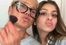 Xuxa e Luana/Instagram