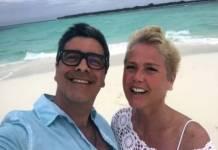 Xuxa Meneghel e Junno Andrade - Reprodução/Instagram