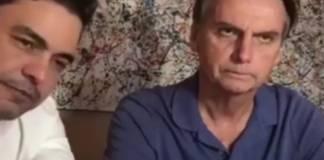 Zezé Di Camargo e Jair Bolsonaro/Instagram