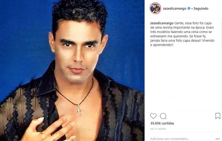 Zezé Di Camargo / Instagram