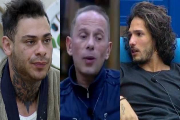 Léo Stronda, Rafael Ilha e João Zoli - Montagem/Área VIP