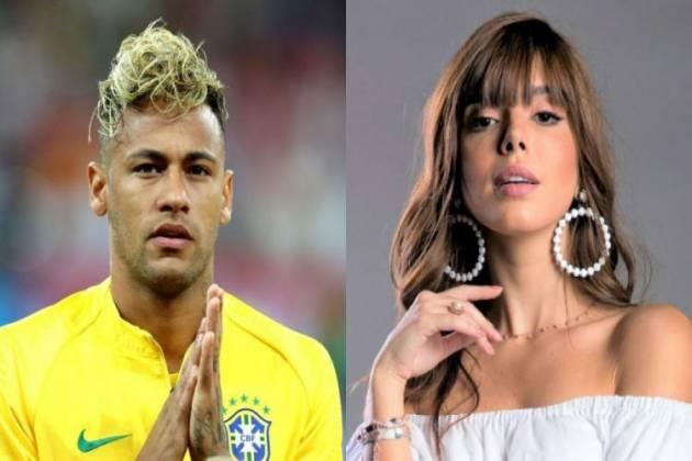 Neymar e Bruna Marquezine - Montagem/Área VIP