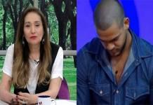 Sonia Abrão e Caique Aguiar - Montagem/Área VIP