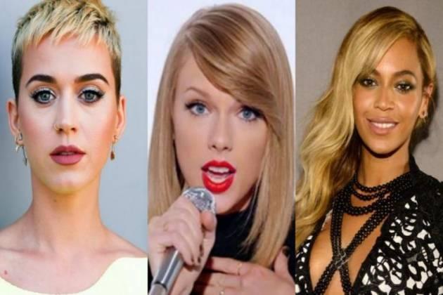 Katy Perry, Taylor Swift e Beyoncé - Montagem/Área VIP