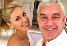 Ana Hickmann e o marido/Instagram