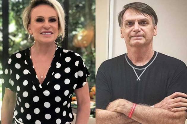 Ana Maria e Bolsonaro - Reprodução/Instagram