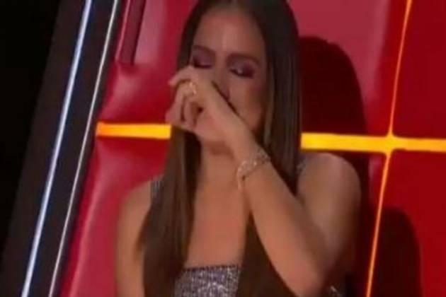 Anitta chorando - Reprodução