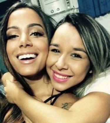 Anitta e Juliana/Instagram