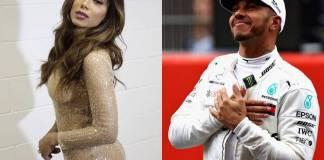 Anitta e Lewis Hamilton / Reprodução: Instagram
