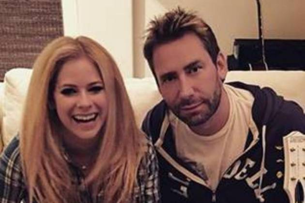 Avril Lavigne e Chad Kroeger - Reprodução/Instagram