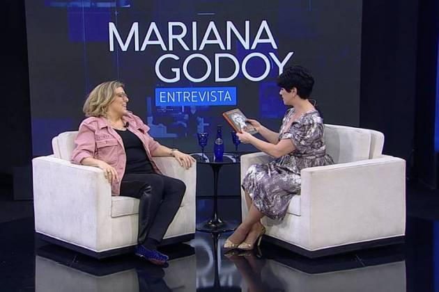 Barbara Gancia e Mariana Godoy (Divulgação/Rede TV)