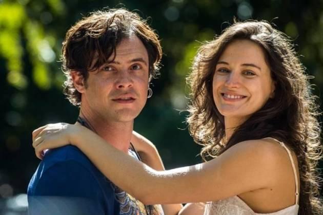 Bianca Bin e Sergio Guizé (Foto: Reprodução/TV Globo)
