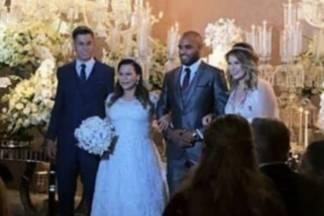 Casamento Mãe de Marilia Mendonça - Reprodução/Instagram