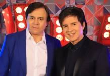 Chitãozinho e Xororó (Globo/Paulo Belote)