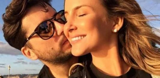 Claudia Leiite e o marido