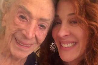 Claudia Raia com a mãe/Instagram