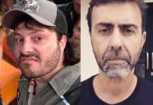 Danilo Gentili e Marcelo Freixo - Reprodução/Instagram