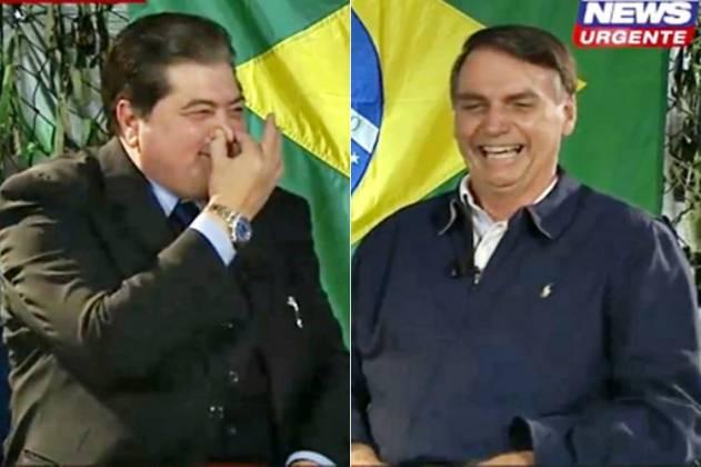Datena tapa o raniz e evita Bufa de Bolsonaro