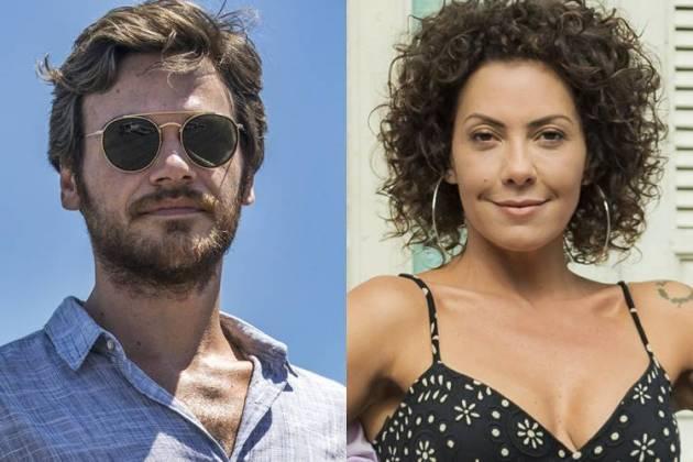 Emilio Dantas e Fabiula Nascimento (Globo/Victor Pollak/Raquel Cunha)