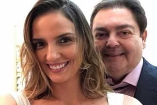 Luciana Cardoso e Fausto (Foto: reprodução Instagram)