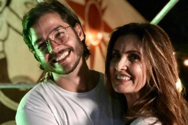 Fátima Bernardes e Túlio Gadêlha / Reprodução: Instagram
