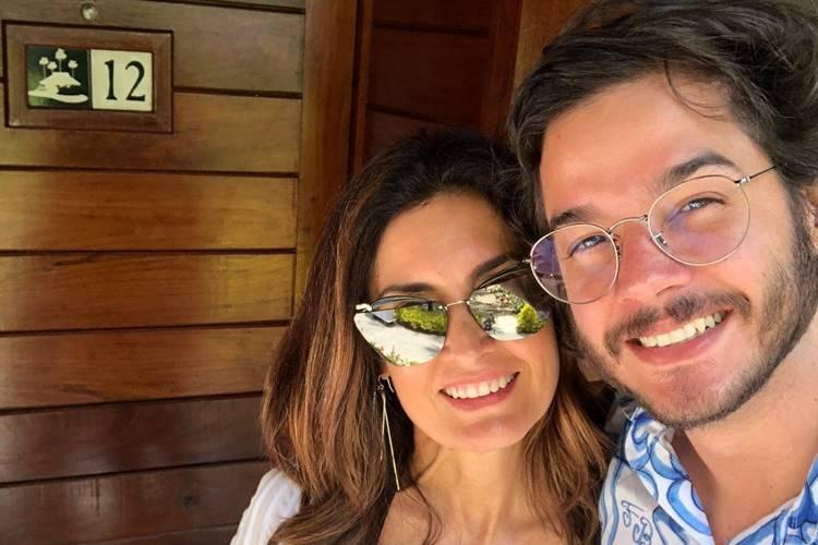 Fátima Bernardes e Túlio Gadelha comemoram 'recorde' em Paris