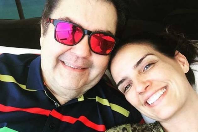 Faustão e Luciana Cardoso - Reprodução/Instagram