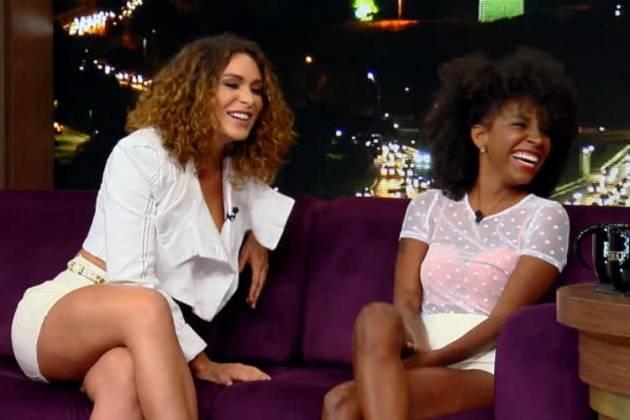 Fernanda Lacerda e Luane Dias - Reprodução/Record TV