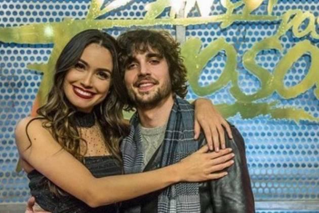 Érica Rodrigues e Fiuk - Divulgação