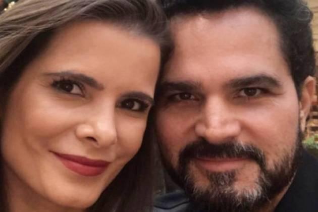 Flávia e Luciano (Foto: reprodução Instagram)
