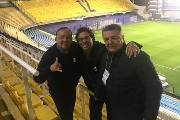 Galvão, Casagrande e Arnaldo / Reprodução: Instagram