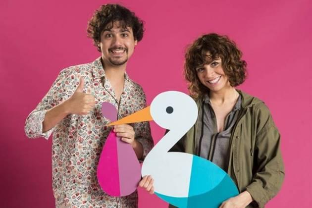 George Sauma e Renata Gaspar são o casal Pedro e Taís (Globo/Estevam Avellar)
