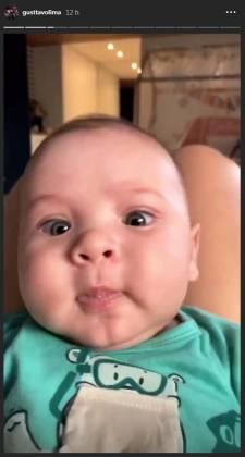Samuel, filho do cantor Gusttavo Lima - Reprodução/Instagram