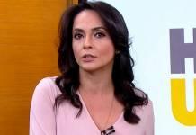 Izabella Camargo - Reprodução/TV Globo