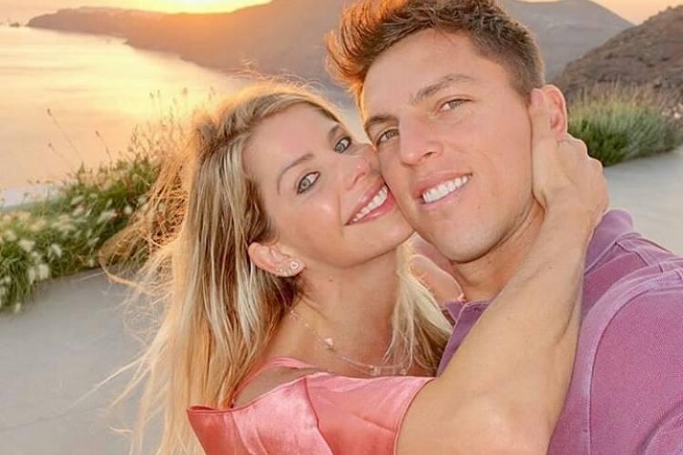 Karina Bacchi e Amaury Nunes se casam em Alagoas