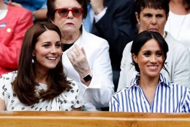 Kate Middleton e Megahn Markle - Reprodução/ Instagram/@kensingtonroyal