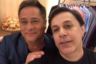 Leonardo e Tom Cavalcante - Reprodução/Instagram