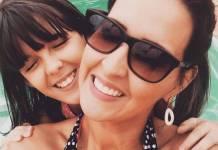 Lilia Araújo e a filha - Reprodução/Instagram