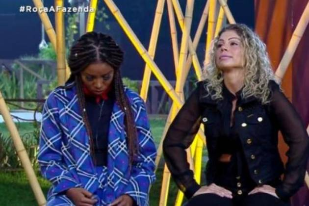 Luane e Catia - Reprodução/Record TV